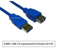 KABEL USB3.0 EXTENSION AM - AF blue